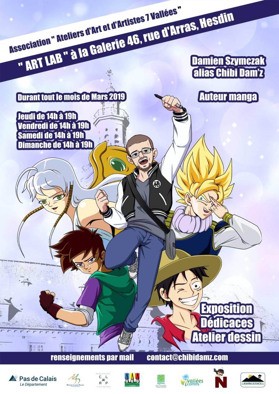 exposition manga Chibi dam'z